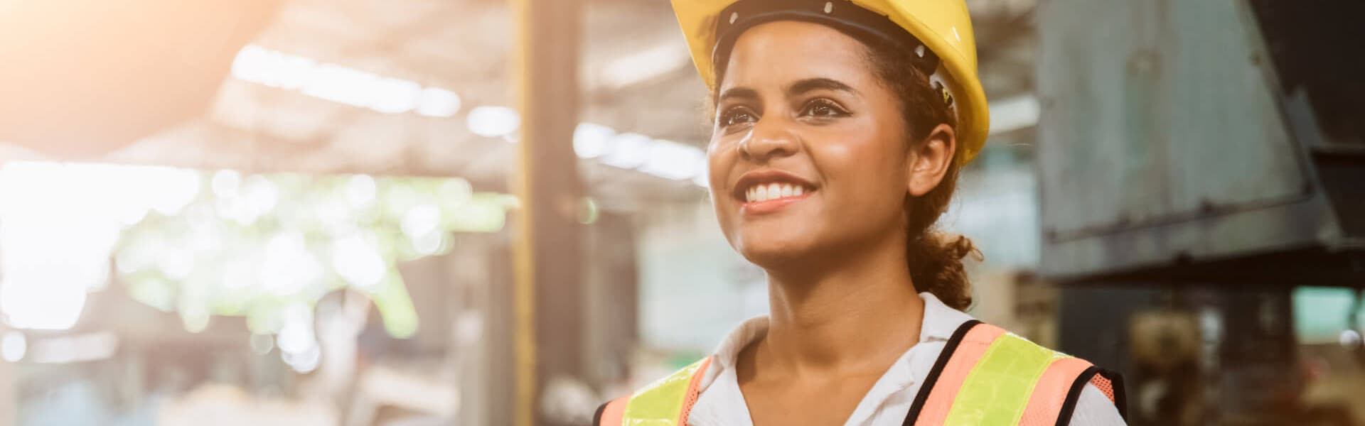 Industry maintenance engineer woman